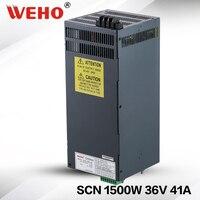 SCN 1500 36 1500 Вт Светодиодный импульсный одиночный выход с параллельным подключением источник питания DC 36 В CCTV 24 месяцев гарантии