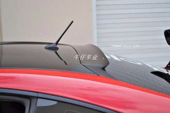 car accessories For Subaru BRZ Toyota 86 GT86 2012-2016 ABS Plastic Unpainted Primer Color Rear Trunk Wing Spoiler image