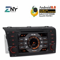 7 IPS Android 9.0 Car DVD For Mazda 3 2004 2005 2006 2007 2008 2009 Auto Radio FM RDS GPS Navigation WiFi Free Backup Camera