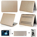 three gifts Matte/slik notebook cover laptop case pro 13 15 air 11 13 retina 13 15 protective sleeve/shell for macbook