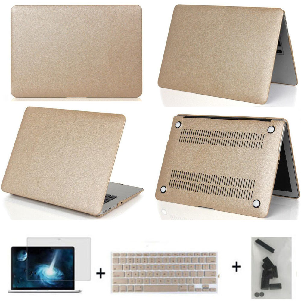 three gifts Matte/slik notebook cover laptop case pro 12 13 15 air 11 13 protective sleeve/shell for macbook