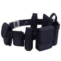 Men Army Black Tactical Belt Set Multifunctional Security Military Nylon Belts Mens Waist With Buckle Combat Rappelling Belt Set