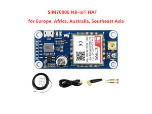 Image 1 - Waveshare NB IoT/eMTC/EDGE/GPRS/GNSS כובע עבור RPi אפס/אפס W/ אפס WH/2B/3B/3B +, המבוסס על SIM7000E, תומך TCP, UDP, PPP, HTTP, דואר