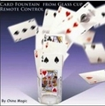 Card Fountain From Glass Cup Remote Control - trick,stage magic,accessories,card Floating magic.Close-up magic
