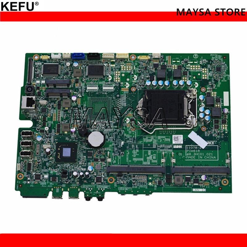 KEFU CN-0YXG0Y YXG0Y Fit For Dell Inspiron All In One 2020 Motherboard 11078-2 PIH61R 48.3HC01.021 Mainboard System Borad for dell motherboard inspiron one 2310 system board dp n xgmd0