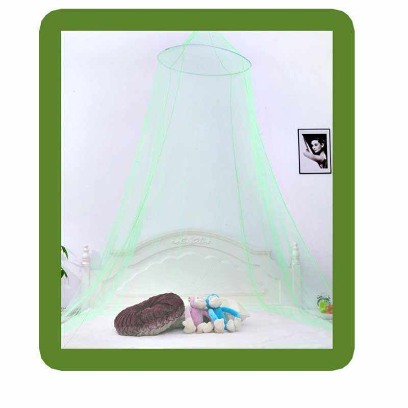 Round Hanging Dome Mosquito Net Large Summer Protective Net Mesh Princess Lace Classical Palace Mosquito Net Round Home Decor