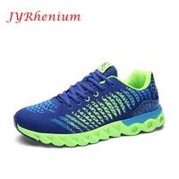 JYRhenium 2017 New Trend Running Shoes Mens Sneakers Breathable Air Mesh Shoes Eva Athletic Sapatos