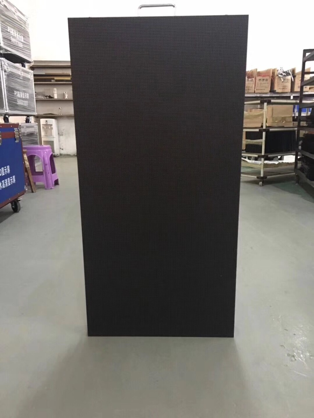 4pcs 500x1000mm Indoor Led Display Screen P3.91 Indoor Die Cast Aluminum Cabinet For Rental Advertising Video Wall Led Screen