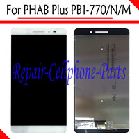 White 6 8 Inch 100 New Full LCD Display Touch Screen Digitizer Assembly For Lenovo PB1