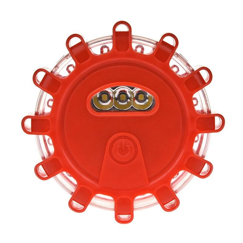 LAIDEYI Multi-function Red Beam LED Warning Light Indicator Lamp For Car Roadblock Night Riding Emergency Strobe Flash SOS Lamp