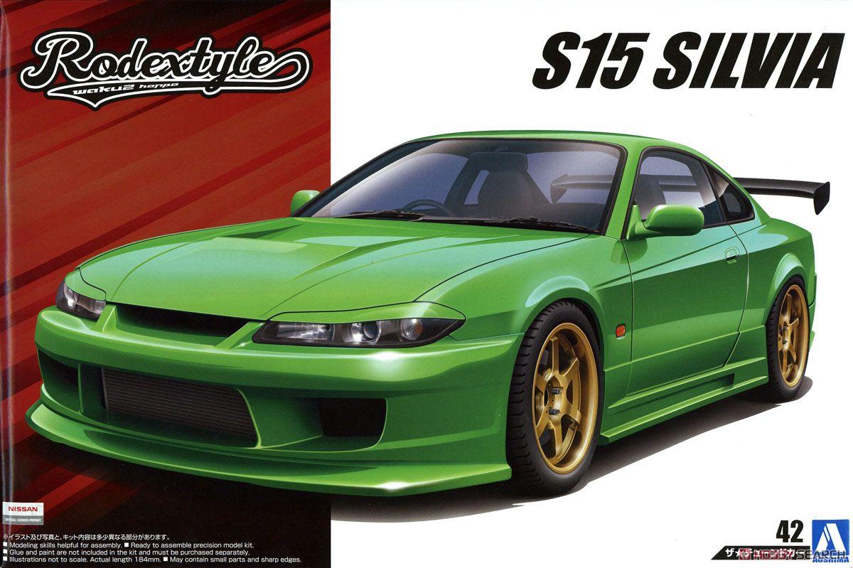 1/24 Assembly Car Models Rodextyle S15 Silvia ` 99 05451