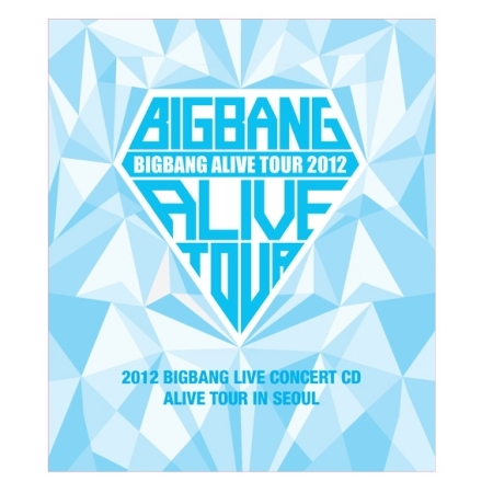BIGBANG - 2012 BIGBANG LIVE CONCERT- ALIVE TOUR IN SEOUL - RELEASE DATE 2013.01.10   KPOP 2013 g dragon world tour one of a kind the final in seoul world tour [ booklet 3 photocards] release date 2014 2 12 kpop