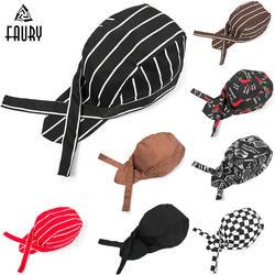 Оптовая продажа 2018 новый пиратский шляпа для шеф повара головные уборы официантов Отель Ресторан столовая хлебобулочных кухня