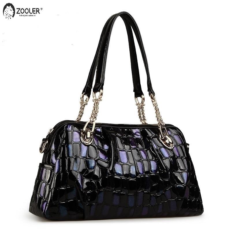 ZOOLER марка истинска кожа чанта за жени кожа чанта женски дамски чанти мода рамо чанти пратеник чанти designer1066