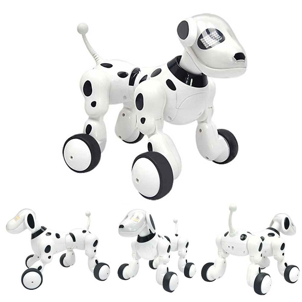 Dog Robot Dance Electronic Pet Music Intelligent Robot Dog 2.4G Wireless Remote Control Digital Pet Kids Toy Talking Toys Gifts