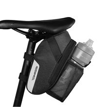 ROSWHEEL 2018 bike bag bicycle saddle bag accessories with rear light water bottle pocket waterproof 1
