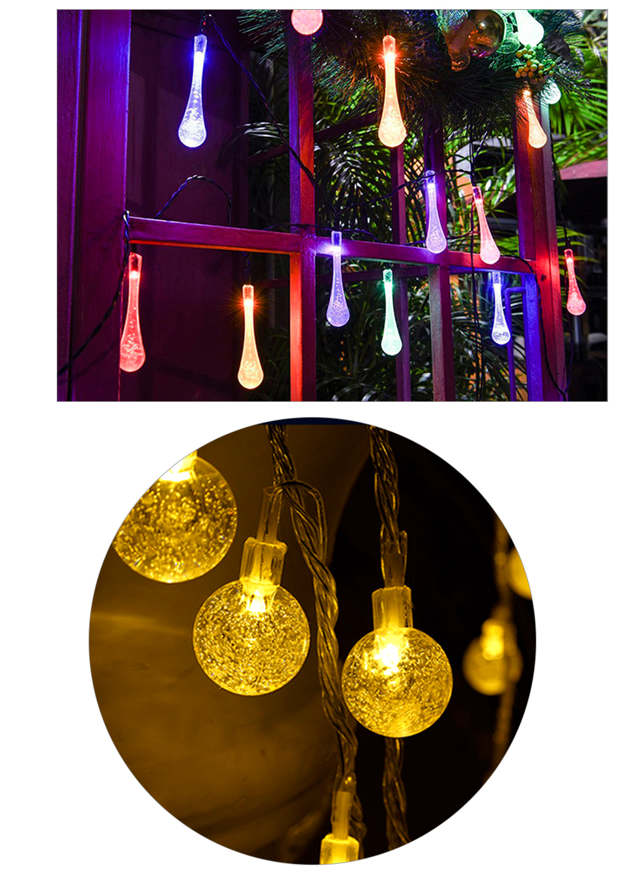 Solar Light Lamp Outdoor Waterproof Solar LED Garland Globe Ball Fairy String Light Party Holiday Wedding Xmas Garden Decoration (14)