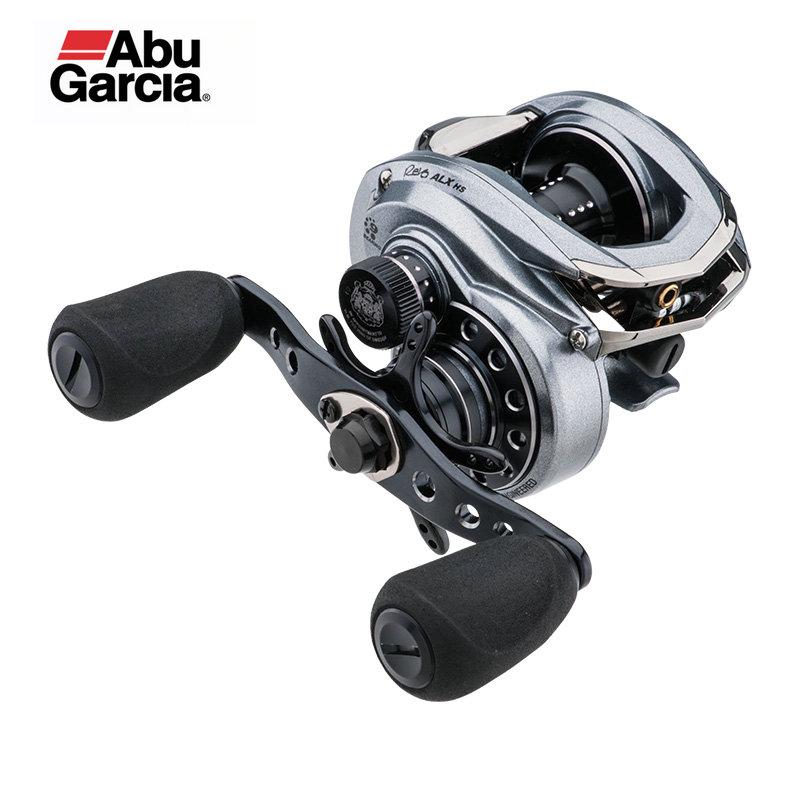 Original Abu Garcia Revo ALX 8.0: carretel De Pesca De arremesso 1 9BB 155g Max Arraste 7.3 kg sistema de arrastar Matriz de Carbono frame da liga