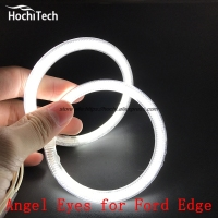 HochiTech Excellent CCFL Angel Eyes Kit Ultra Bright Headlight Illumination For Ford Edge 2011 2012