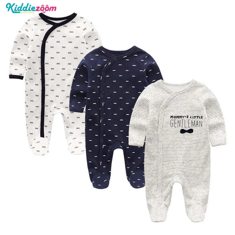 Mono Infantil para bebés, ropa para niñas recién nacidas, 100%, mono de pijama de algodón suave, Pelele de bebé de manga larga, ropa Infantil