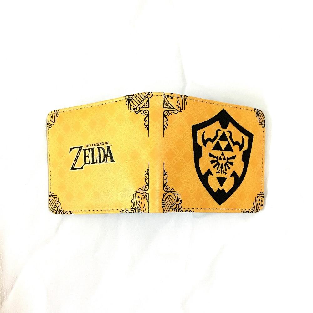 New game The Legend of Zelda wallet color short wallet cartoon coin wallet card bag  1