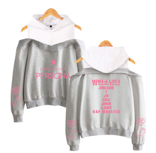 Map Of The Soul: PERSONA BTS Off-Shoulder Hoodie