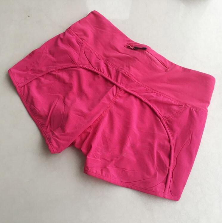 2017 Новый Женщины lulu шорты Легкий дышащий быстросохнущие шорты, Размер XS-XL, Бесплатная доставка