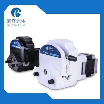 Tube Easy Replacing Peristaltic Pump 24v with Stepper Motor Precision Volume Liquid Transfer 24v input liquid metering peristaltic pump stepper