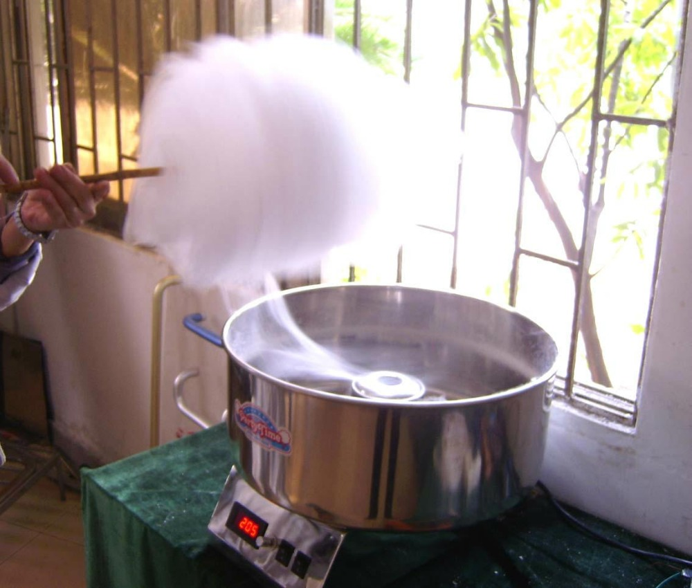 Commercial Cotton Candy Machine 110V/220V Sugar Floss Making Machine Popular Electric Candy Floss Maker CC-3803H cotton candy machine cc 3803h popular commercial cotton candy floss full electric cotton machine