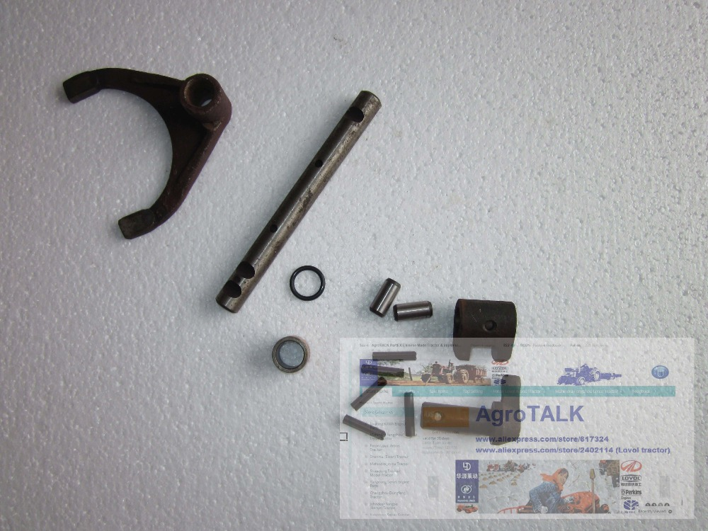 JINMA JM284 tractor parts, the repair kit for shift fork, please see the parts showed in pictures