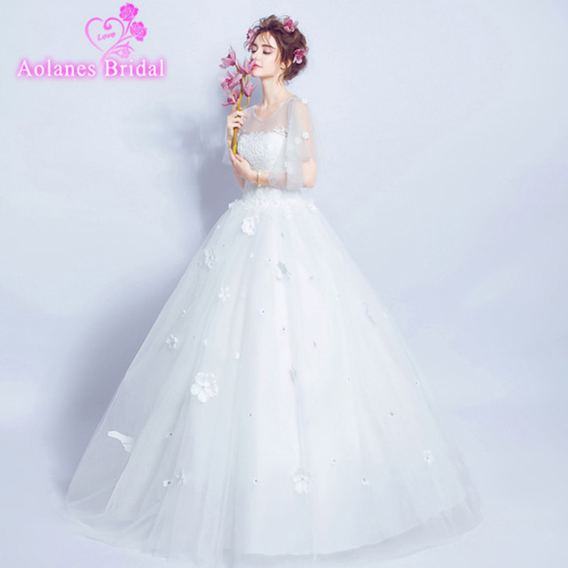 Wedding Dress Beautiful White Ball Gown Wedding Dress Strapless ...