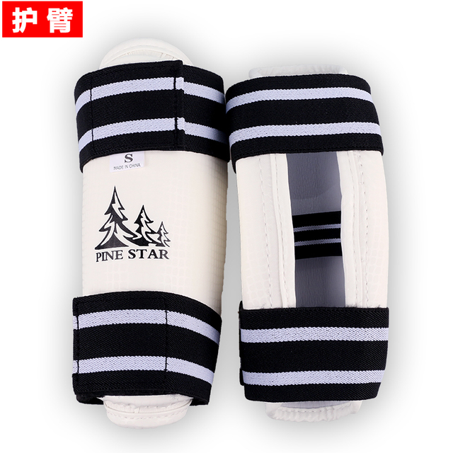 Taekwondo Shin & Arm Professional Guard Boxing Protector Sparring Gear WTF CE Comfortable Absorb Sweat 4 piece/Pack Fight Winner 2