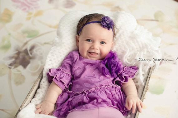 TWDVS Симпатичные Новорожденный Цветок - Аксессуары для одежды - Фотография 4