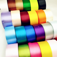 5 yard 1-1/2 (40mm) Lots Colors Solid Color Satin Ribbons Wedding Decorative Gift Box Wrapping Belt DIY Crafts R111 блэйзер color daifei r111 2015