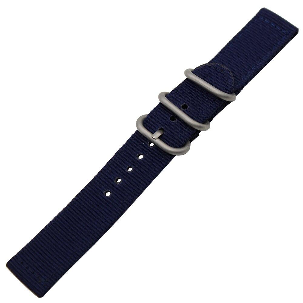 18mm 20mm Nylon Watchband Zulu Strap for DW (Daniel Wellington) Men Women Watch Band Fabric Belt Bracelet Black Blue Brown Grey