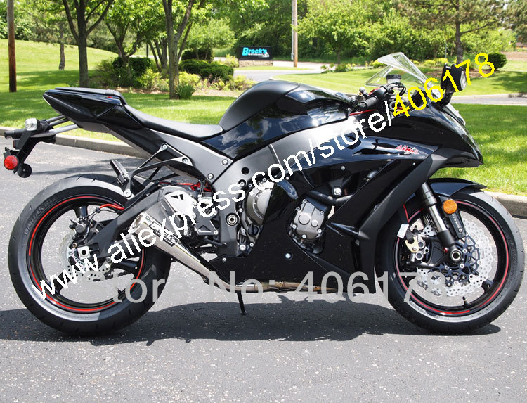 Hot Sales,Injection Fairing For Kawasaki ZX10R ZX-10R 2011 2012 2013 2014 2015 Ninja ZX 10R Black Body Kit (Injection molding) bigbang 2012 bigbang live concert alive tour in seoul release date 2013 01 10 kpop