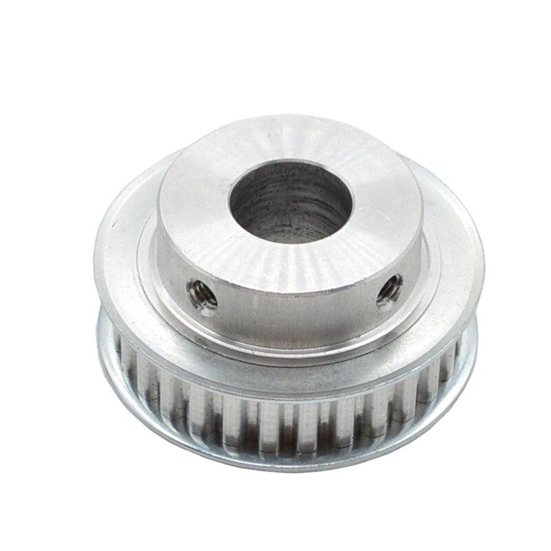 XL30 2 pcs Cronometrando Polia 30 dentes Alumium Bore 8 10 12 14 15 16 19 20 25mm fit para Largura da correia XL 11mm roda de Sincronização