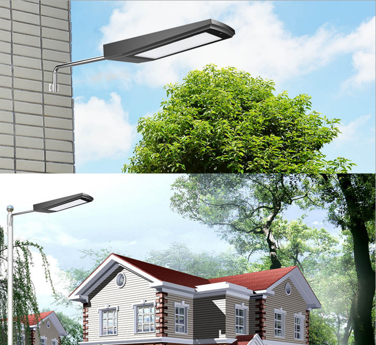 108LEDs Solar Power Radar Motion Sensor Wall Light Outdoor Waterproof Energy Saving Street Yard Path Home Garden Security Lamp