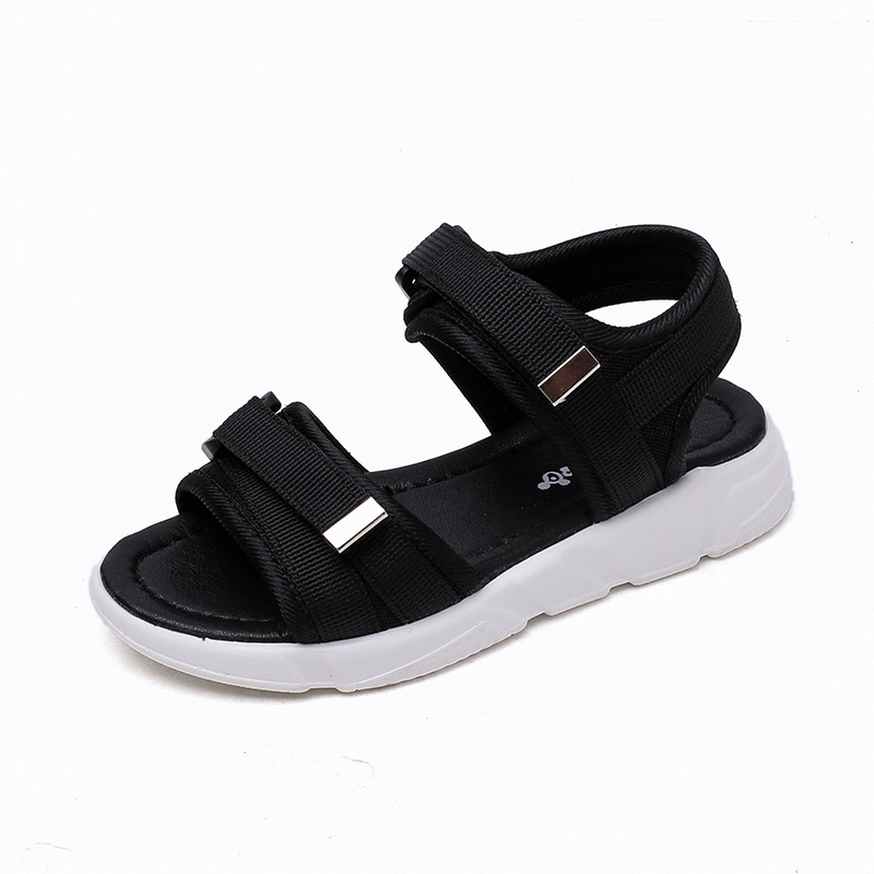 Mädchen Begeistert Afdswg Sommer Strand Schuhe Jungen Sandalen Schwarz Kleine Jungen Sandalen Rot Kinder Stud Schuhe Grün Flache Fuß Schuhe Kinder