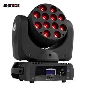 HOT Fast&Free Shipping DMX Stage Light LED Moving Head LED Beam 12X12W RGB Professional Stage & DJ Factory Price цена 2017