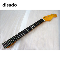 disado 21 22 24 Frets tiger flame maple Electric Guitar Neck rosewood fretboard inlay dots guitar accessories parts