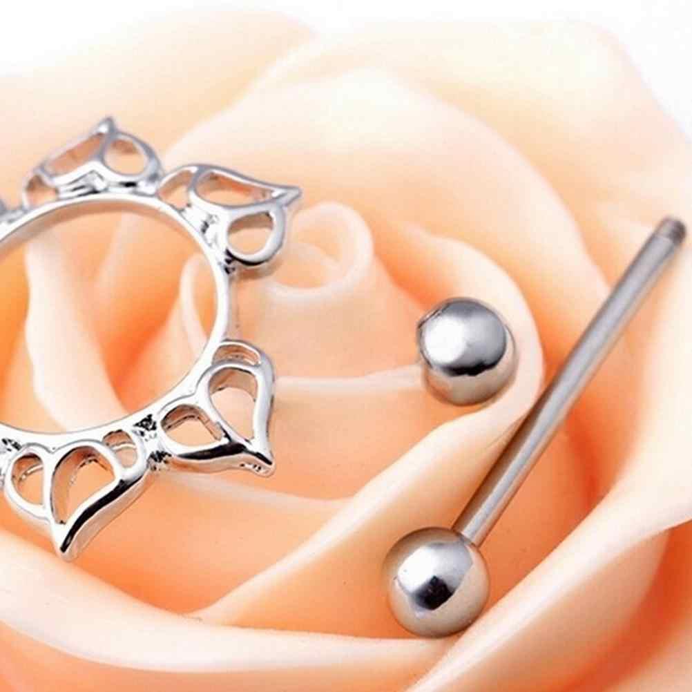 Jettingbuy sexylady leite materno fivela anel de chama sexy aço inoxidável nipple rings corrente da barriga feminino presente piercing jóias do corpo