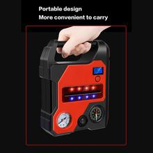 22000mAh Portable Car Jump Starter Tire Inflator Battery Booster Charger Charging Power Bank Starting Device
