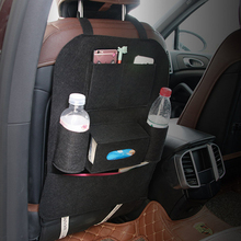 Автокресло Назад сумка для хранения нескольких карман Фетр Авто карманы для хранения Организатор напитка держатель телефона разное Средства ухода для автомобиля