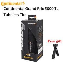 Continental grand prix 5000 tl 700c pneu sem câmara, único/700x25c