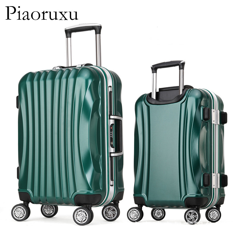 цена на 100% All Aluminium alloy Luggage Hardside Rolling Trolley Luggage travel Suitcase 20 Carry on Luggage 24 26 28 Checked Luggage