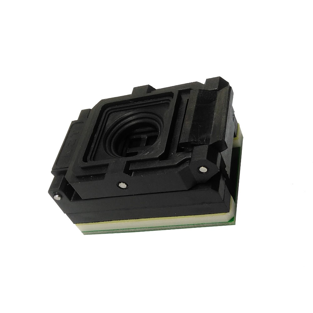 BGA63 0.8mm Sonde programmeur socket proman adaptateur taille 10.5*13.5mm 9*11mm BGA63 à DIP48 sonde pin socket BGA63 flip pogo pin