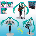 New Anime VOCALOID 18cm Hatsune Miku Action Figure Toys Commercial ver figma anime action toy figure MIKU hand movable model