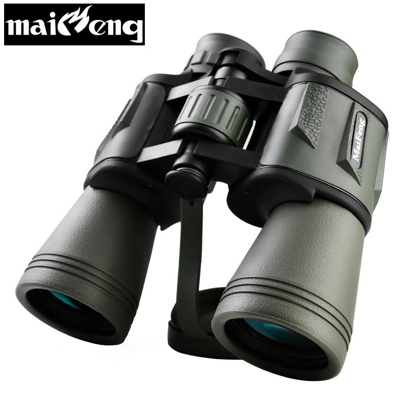 ハイタイム20X50 HD双眼鏡Lllナイトビジョン望遠鏡狩猟キャンプのための強力な広角窒素防水双眼鏡Бинокль