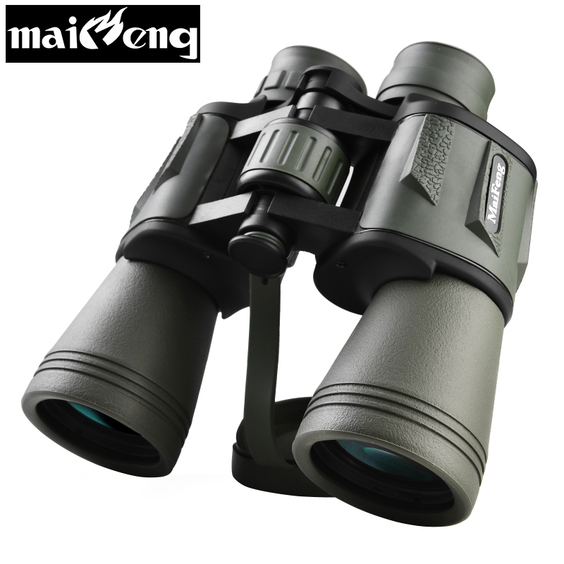 High Times <font><b>20X50</b></font> HD Binoculars Lll Night Vision Telescope Powerful Wide-angle Nitrogen Waterproof binocular for Hunting Camping image